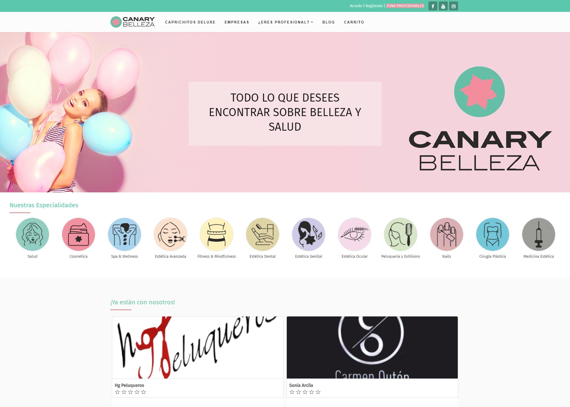 canarybelleza.com