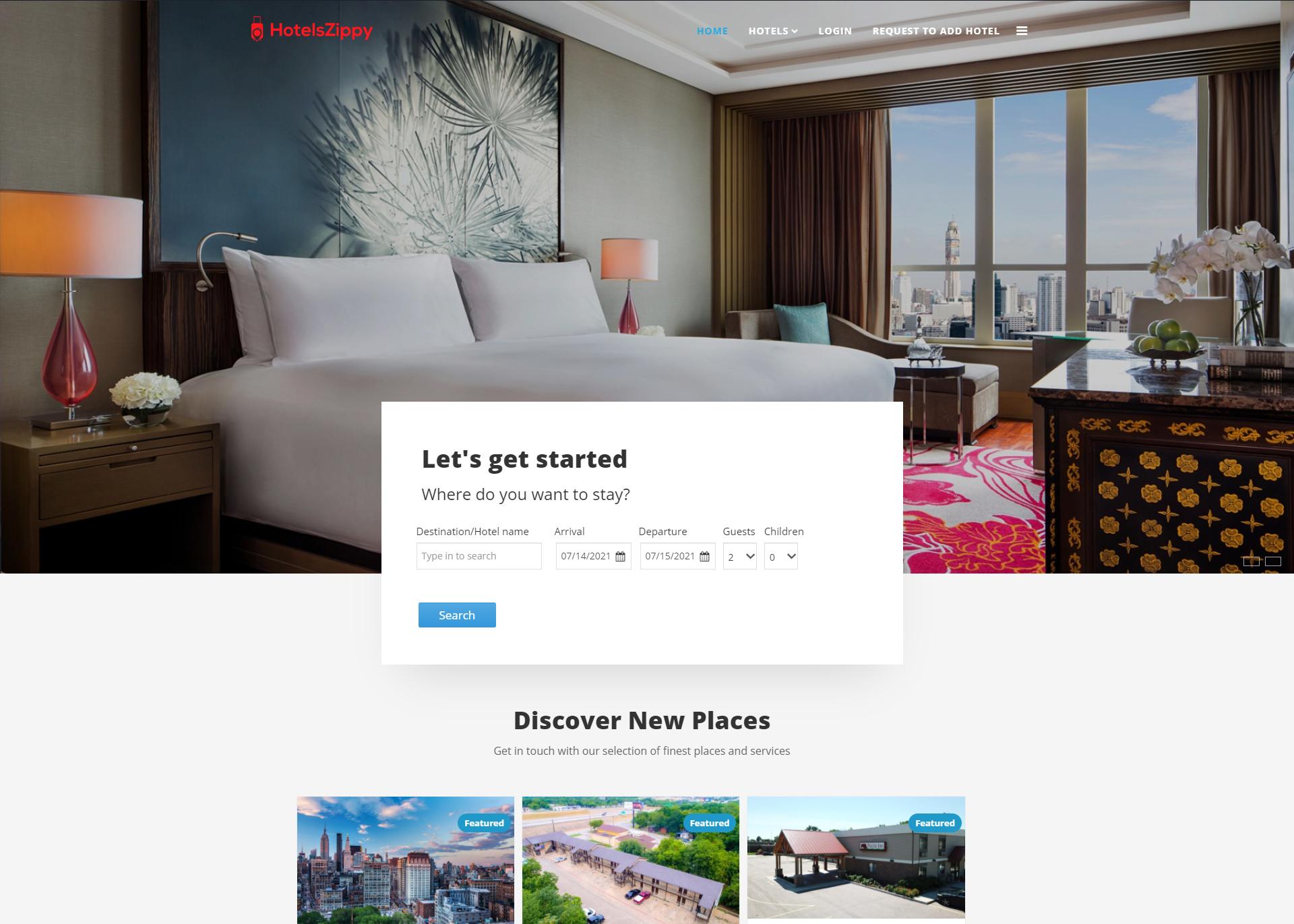 HotelsZippy