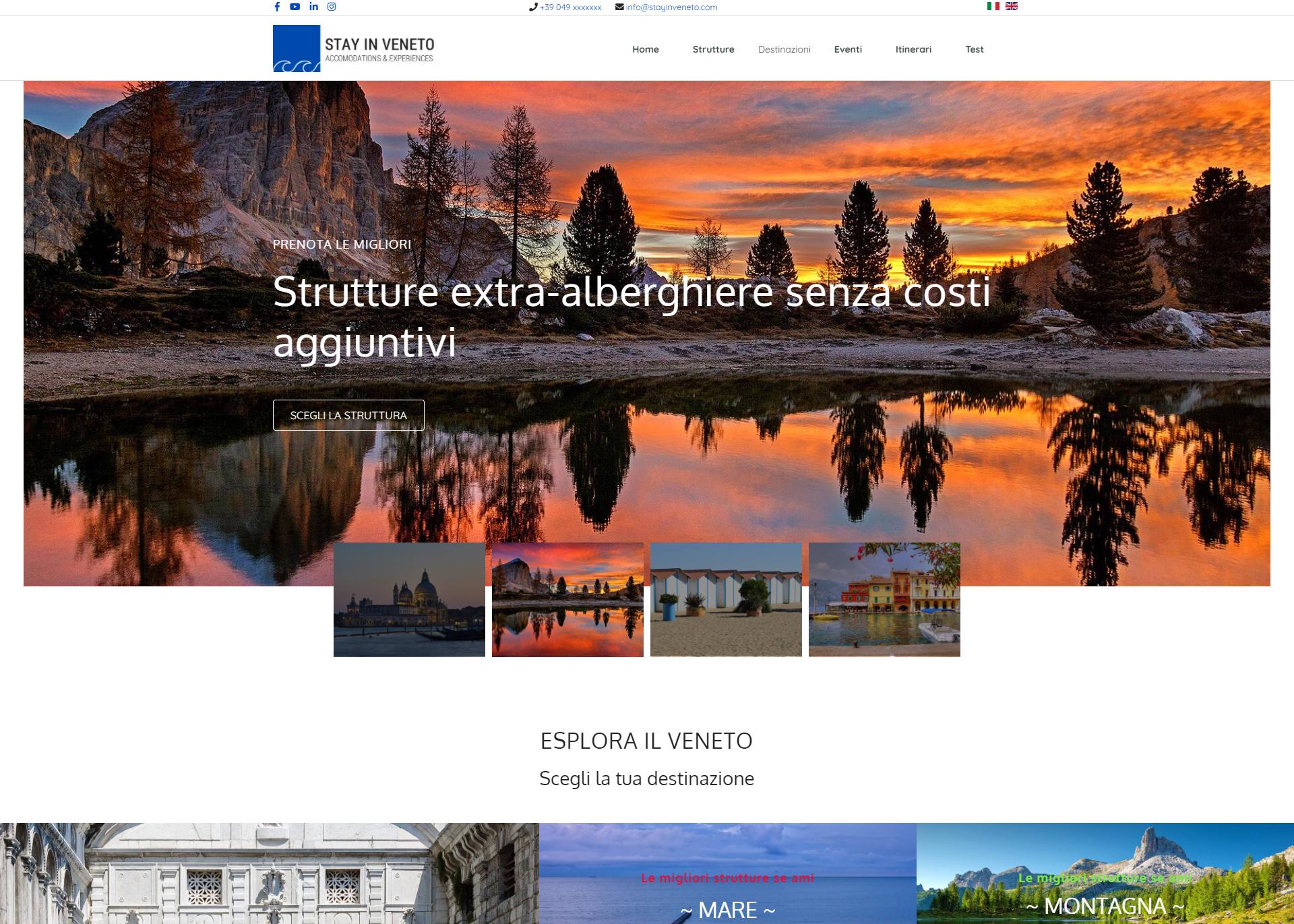 Stay in Veneto Strutture