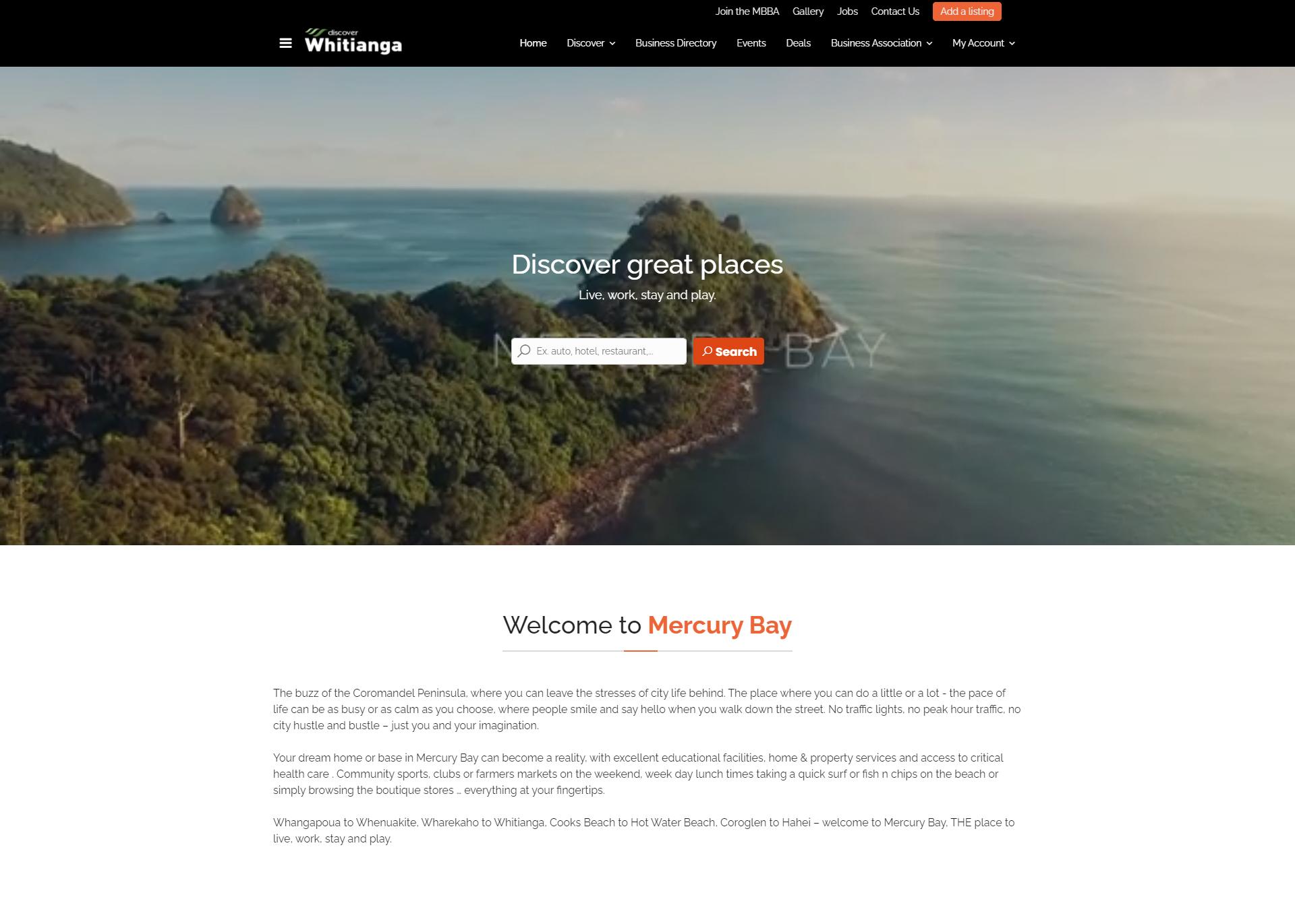 Discover Whitianga